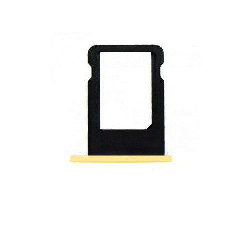Tiroir Sim Iphone 5C Jaune