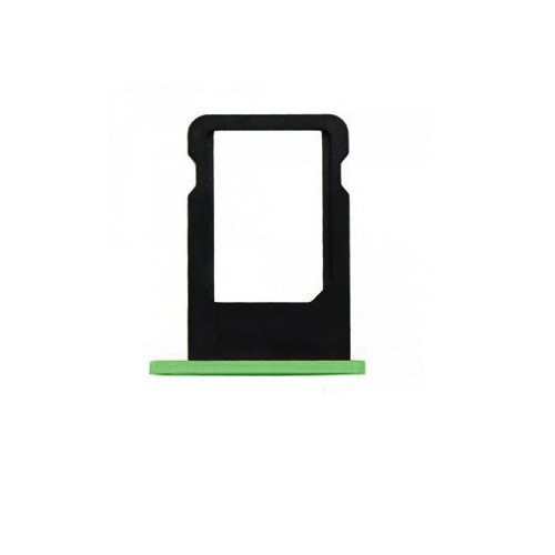 Tiroir Sim Iphone 5C Vert