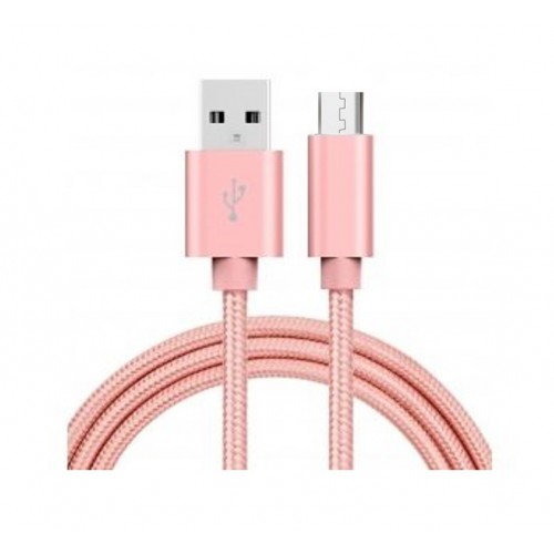 CABLE MICRO USB ROSE
