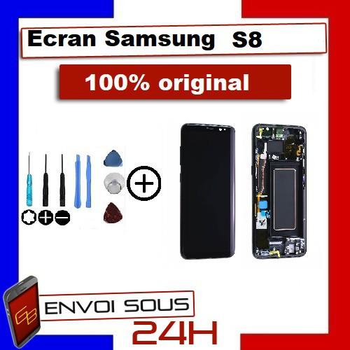 Ecran LCD Samsung Original S8 Noir /...