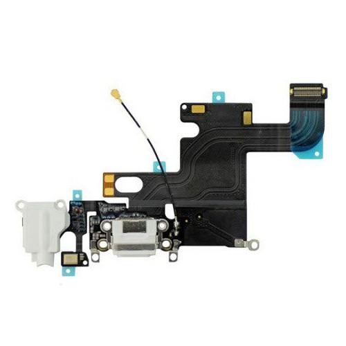 smart-repa Nappe Dock CONNECTEUR DE Charge Micro pour IPHONE 6 Blanc