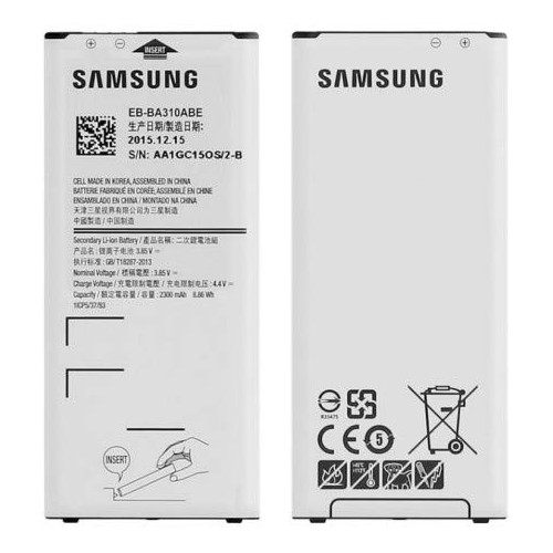 smart-repa Batterie Originale Samsung Galaxy A3 2016 SM-A310F