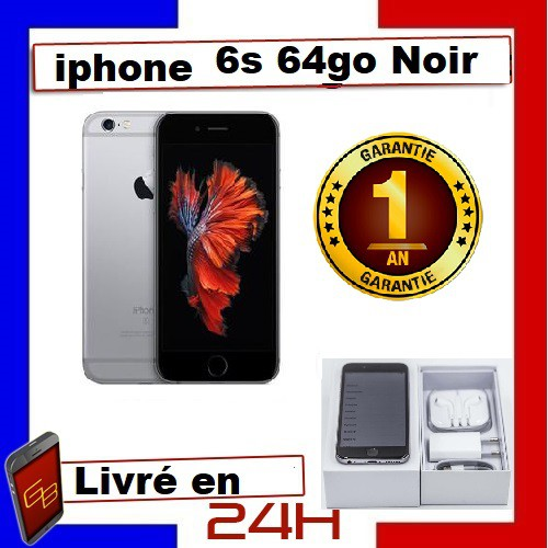 Apple Iphone 6S - 64Go Noir /...