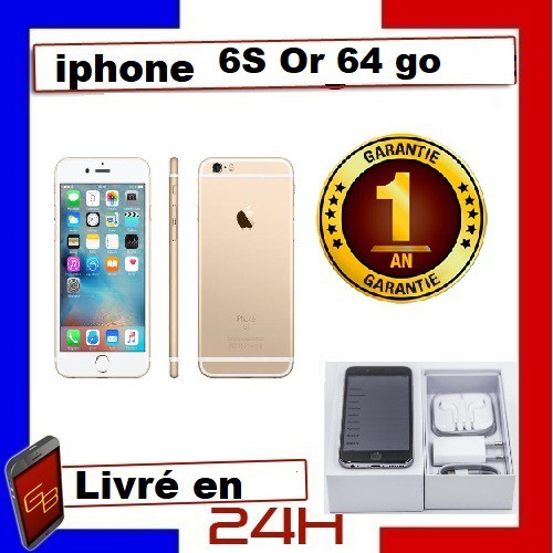 cd Apple Iphone 6S - 64Go Or /...