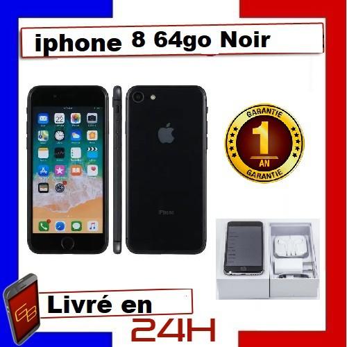 cd Apple Iphone 8 - 64Go Noir /...