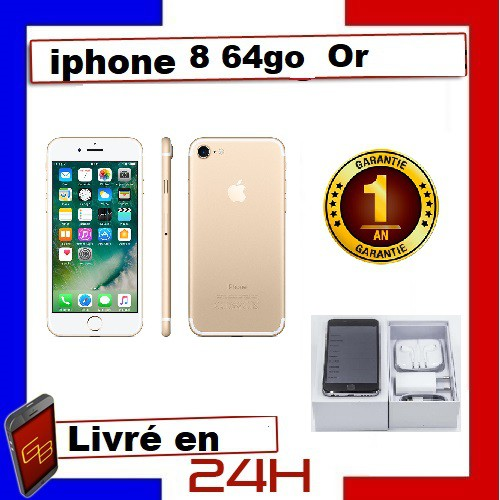 cd Apple Iphone 8 - 64Go Or Gold /...