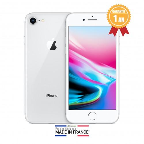 Apple iPhone 8 Argent Silver Débloqué