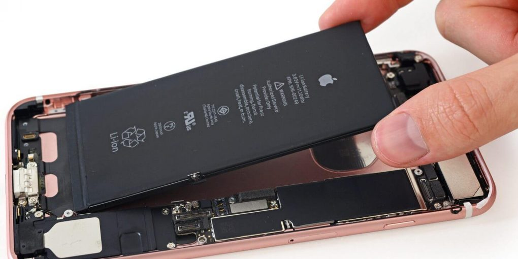 remplacer batterie iphone 7 facilement